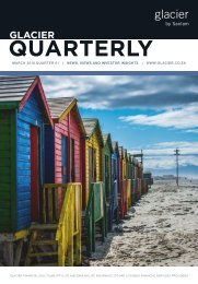 Glacier Quarterly 1 - 2018