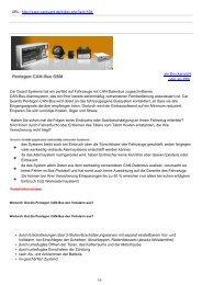 GSM-Alarmsysteme | Pentagon CAN-Bus GSM - Car Guard Systems ...