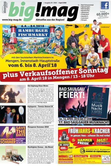 Bigmag Ausgabe April Mai 2018