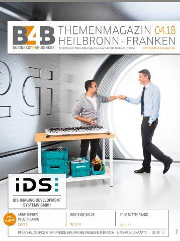 ARBEITGEBER IN DER REGION | B4B Themenmagazin 04.2018
