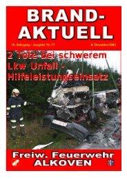 2 Tote bei sc ote bei sc ote bei schwerem Lkw Unfall ...