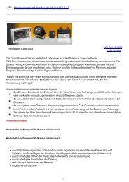 Pentagon CAN-Bus | Pentagon CAN-Bus - Car Guard Systems GmbH