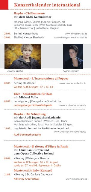 AKAMUS Konzertkalender