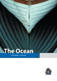 The Ocean - Iceland's Policy - Ministry for Foreign Affairs