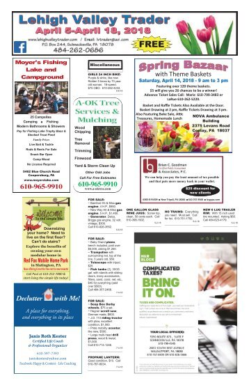 Lehigh Valley Trader April 5-April 18, 2018 issue