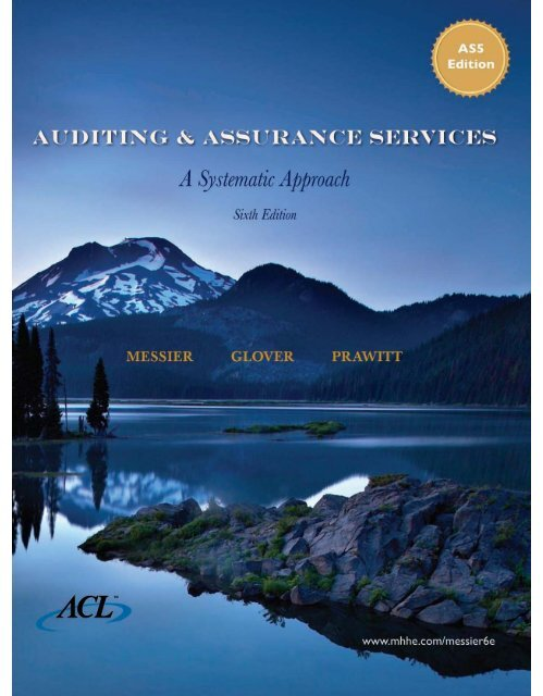 Auditing & Assurance Services 6th Edition