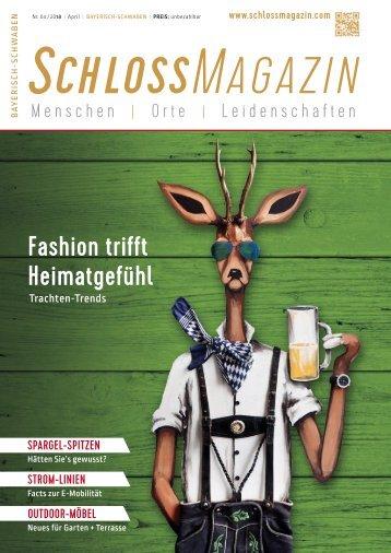 SchlossMagazin Bayerisch-Schwaben April 2018