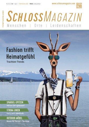 SchlossMagazin Fünfseenland April 2018