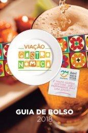 Guia de bolso Viacao Gastronomica 2018 - Digital