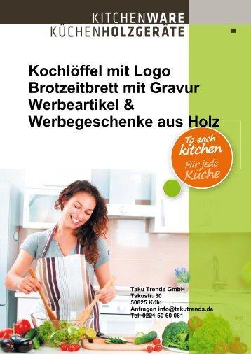 Kochlöffel mit Logo Holz Werbeartikel Werbegeschenke