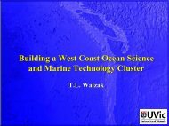 Building a West Coast Ocean Science and Marine ... - TCI Network