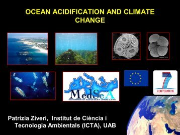 ocean acidification and climate change - JEMES Joint European ...