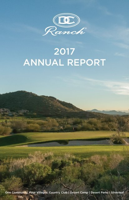 2017 DC Ranch Annual Report