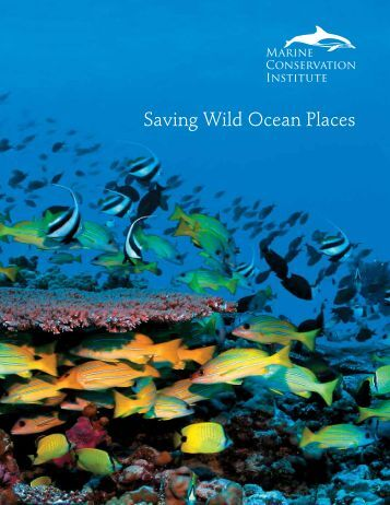 Saving Wild Ocean Places - Marine Conservation Institute