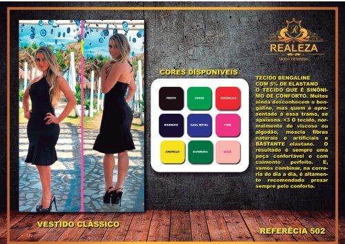 Catálogo Realeza Moda feminina