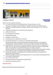 Pentagon Comfort3 | Pentagon Comfort3 - Car Guard Systems GmbH