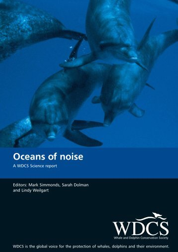 Oceans of noise - Whale and Dolphin Conservation Society