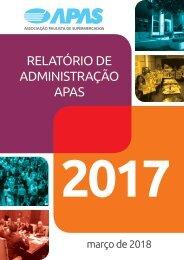 Relatório de Administração APAS 2017