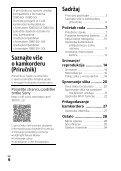 Sony HDR-CX450 - HDR-CX450 Istruzioni per l'uso Croato - Page 6