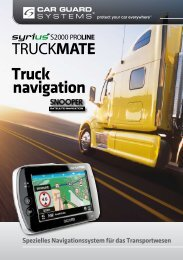 TRUCKMATE - Car Guard Systems GmbH