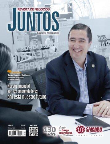 Juntos Gaceta Mercantil - Abril 2018