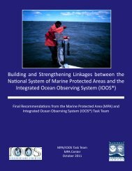 Final Recommendations from the Marine Protected Area (MPA) and ...