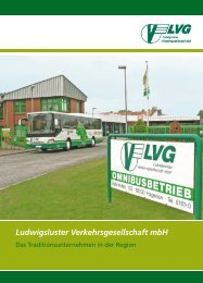 Unsere Leistungen - Ludwigsluster Verkehrsgesellschaft mbH
