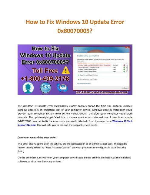 Error 0x80070005 Access Is Denied Windows 10