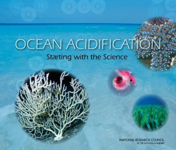 OCEAN ACIDIFICATION - Division on Earth and Life Studies - The ...