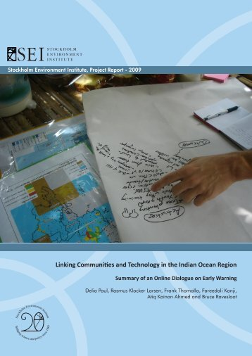 Linking Communities and Technology in the Indian Ocean Region