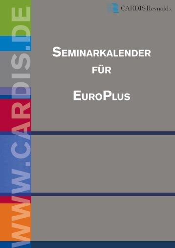 SEMINARKALENDER FüR EUROPLUS - CARDIS Reynolds
