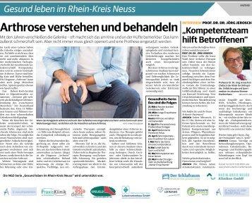 Gesund leben im Rhein-Kreis Neuss  -04.04.2018-