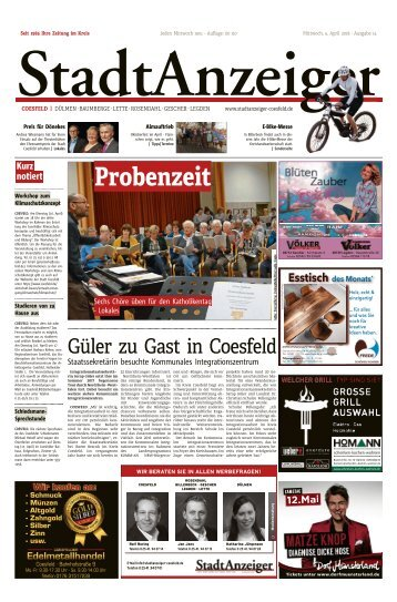 Stadtanzeiger Coesfeld kw 14