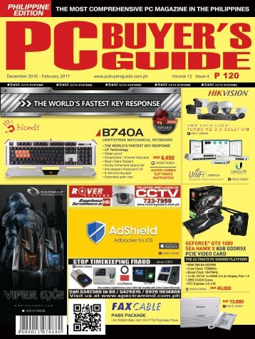 PCBG 52nd issue_ vol 13 issue 4