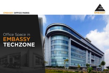 Office Space in EMBASSY TECHZONE