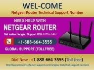 Netgear Router Customer Care Number +1-888-664-3555