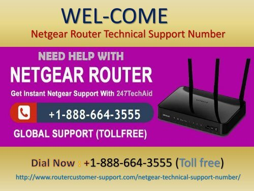 Netgear Router Customer Care Number +1-888-664-3555