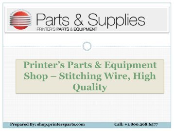 Stitching Wire -Shop.printersparts
