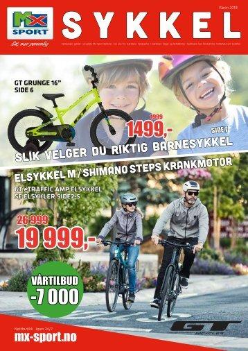 Mx Sport - Sykkel 2018