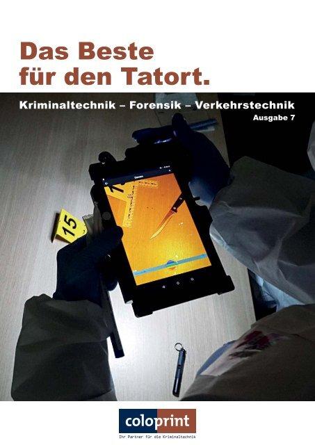 Coloprint GmbH - Das Beste für den Tatort. Ausgabe 7