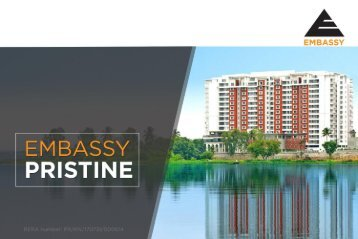 EMBASSY PRISTINE - Luxury Apartments in Bangalore
