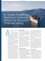 In Ocean Freight, Electronic Invoicing - Citi Transaction Services