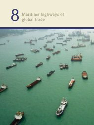 Maritime highways of global trade - World Ocean Review