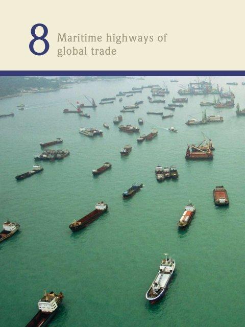 Maritime highways of global trade - World Ocean Review