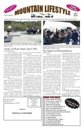 Mountain Lifestyle-Crestline & Lake Arrowhead edition-April 2018