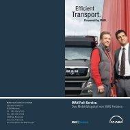 MAN Full-Service. Das Mobilitätspaket von MAN ... - MAN Truck & Bus