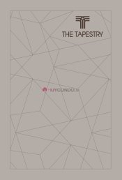 TheTapestry E-brochure with floorplans