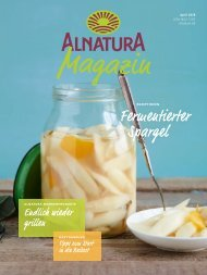 Alnatura Magazin April 2018