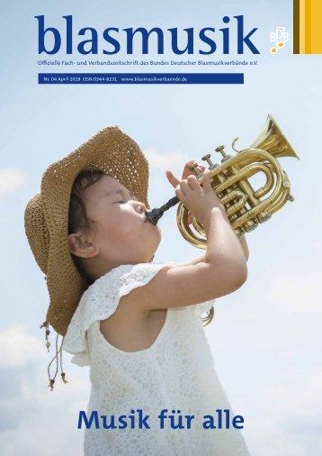 blasmusik Ausgabe April 2018