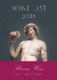 Riviera Wine - Catalogue 2018